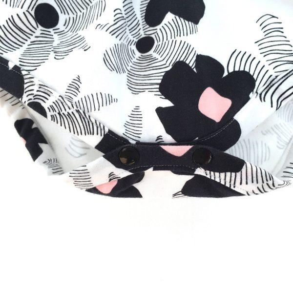 Barboteuse bébé Fille, imprimée FLOWERS