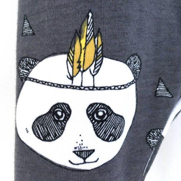 Legging bébé garçon et fille / panda bio