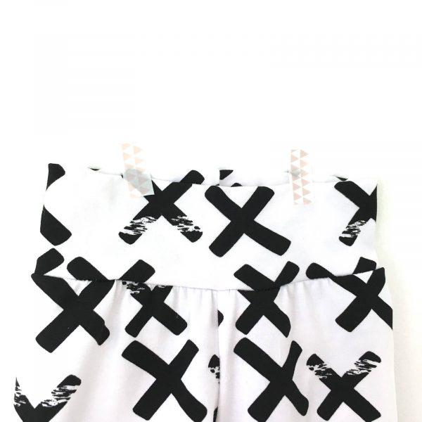 Legging imprimé croix noires  pour bébé et enfant
