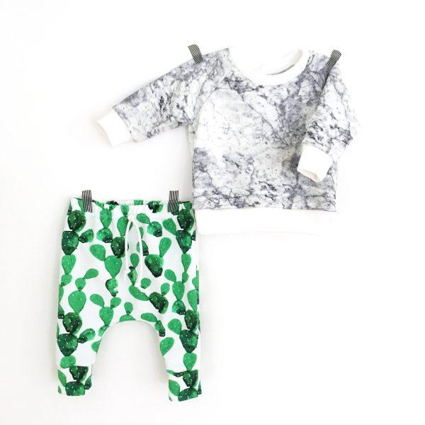 Pantalon Sarouel CACTUS pour bébé et enfant