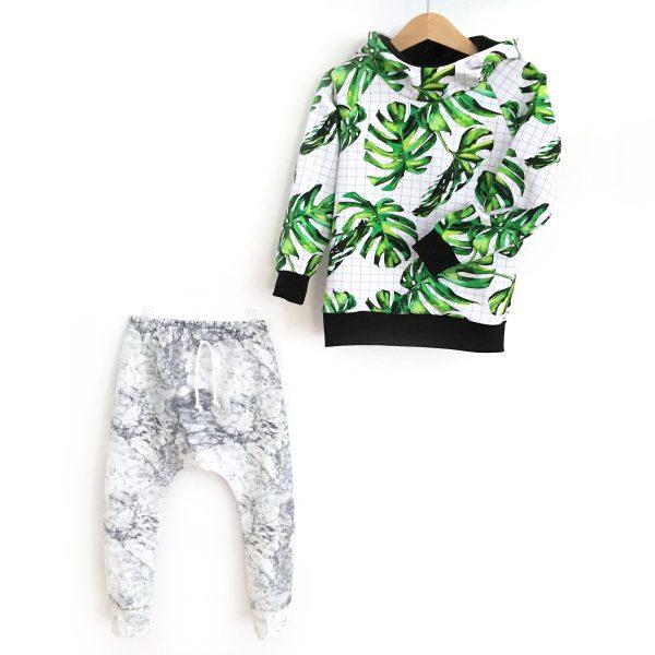 Pantalon Sarouel MARBRE pour bébé et enfant