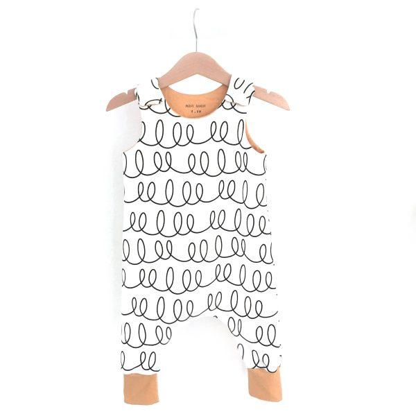 Salopette sarouel SWIRLS pour bébé et enfants