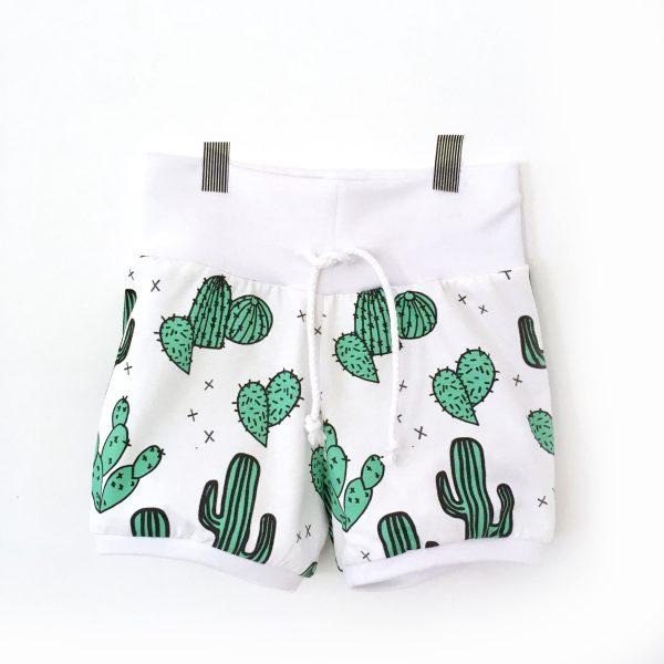 Short jersey imprimé cactus et succulentes