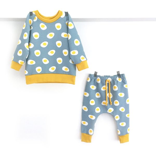 Sweat motif OEUF pour bébé et enfant