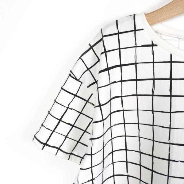 robe-oversize-grid-epaule