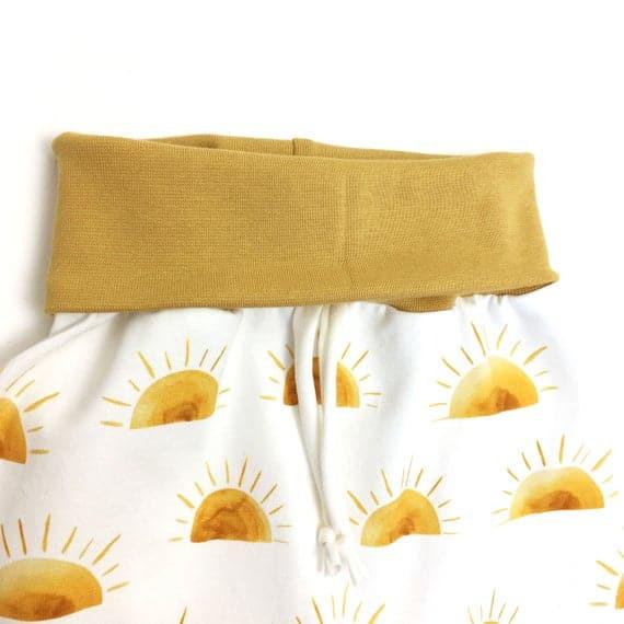Sarouel évolutif SUN, Sarouel bébé, Pantalon sarouel enfant.