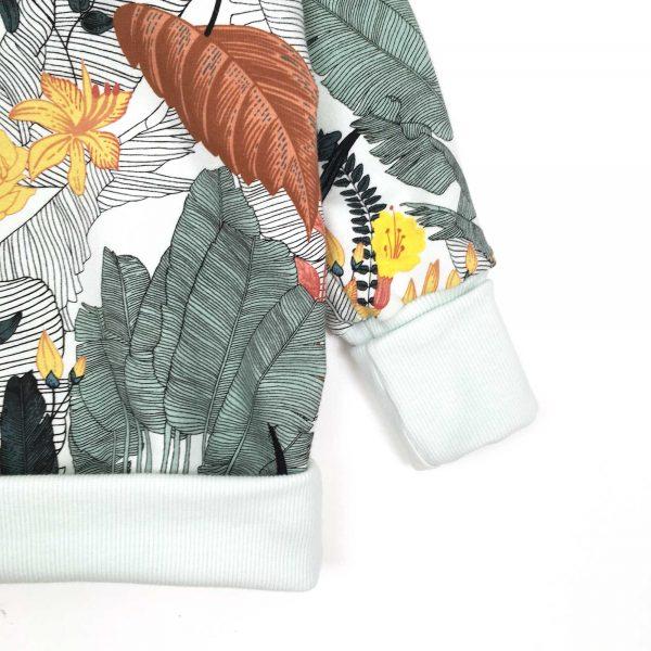 Sweat-evolutif-tropic-leaves-cuff-plie