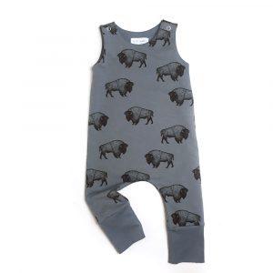 Salopette-bisons