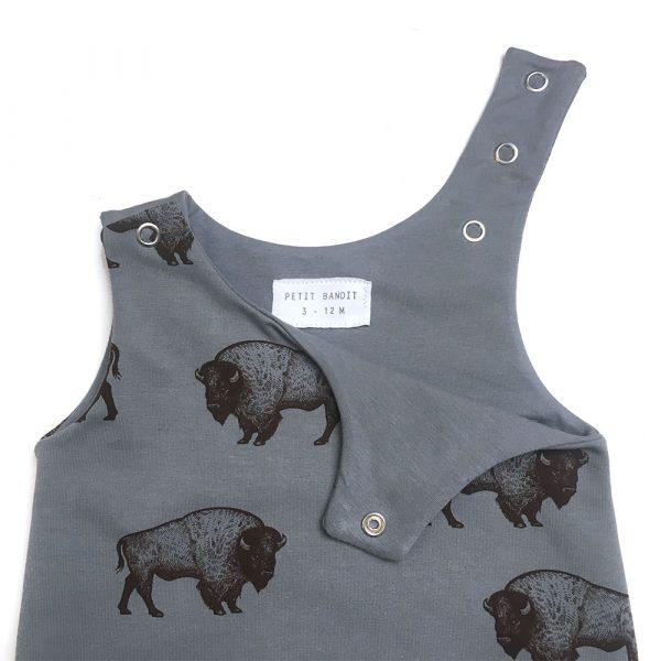 Salopette-bisons-detail