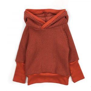 hoodie-maille-brique