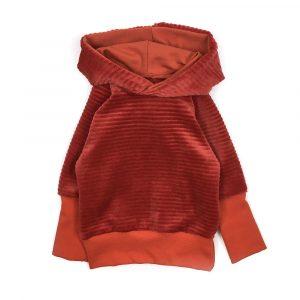 hoodie-velours-brique