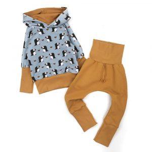 set-hoodie-macareux-sarouel-uni