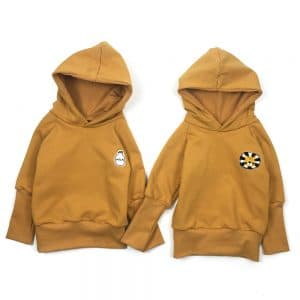 Hoodie-uni-moutarde-duo