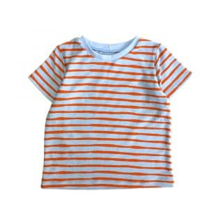 t-shirt-orange-stripe